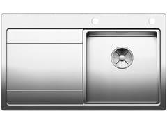 Lavello da incasso in acciaio inox con gocciolatoioBLANCO DIVON II 45 S-IF - BLANCO