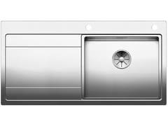 Lavello da incasso in acciaio inox con gocciolatoioBLANCO DIVON II 5 S-IF - BLANCO