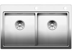 Lavello a 2 vasche da incasso in acciaio inoxBLANCO DIVON II 8-IF - BLANCO