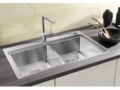Lavello a 2 vasche da incasso in acciaio inox BLANCO DIVON II 8-IF - Blanco Divon II