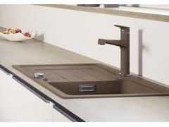 Miscelatore da cucina in acciaio inox con doccetta estraibileBLANCO FELISA-S - BLANCO