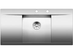 Lavello da incasso in acciaio inox con gocciolatoio BLANCO FLOW 45 S-IF - Blanco Flow-If