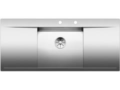 Lavello da incasso in acciaio inox con gocciolatoio BLANCO FLOW 5 S-IF - Blanco Flow-If