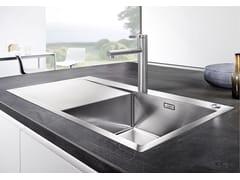 Lavello da incasso in acciaio inox con gocciolatoioBLANCO FLOW XL 6 S-IF - BLANCO