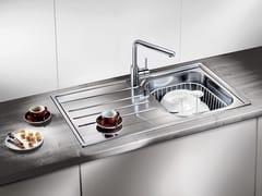 Lavello a una vasca da incasso in acciaio inox con sgocciolatoio BLANCO MEDIAN 45 S - Blanco Median