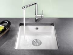 Lavello a una vasca sottotop in ceramica BLANCO SUBLINE 375 U - Blanco Subline Ceramica