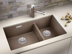 Lavello a una vasca e mezzo sottotop in Silgranit® BLANCO SUBLINE 430/270 U - Blanco Subline