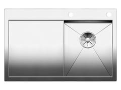Lavello da incasso in acciaio inox con gocciolatoio BLANCO ZEROX 4 S-IF - Blanco Zerox