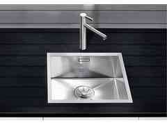 Lavello a una vasca da incasso in acciaio inoxBLANCO ZEROX 400-IF - BLANCO