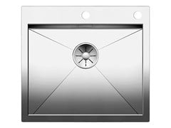 Lavello a una vasca filo top in acciaio inox BLANCO ZEROX 500 IF/A - BLANCO