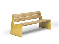 VESTRE, BLOC SEAT | Panchina con schienale  Panchina con schienale