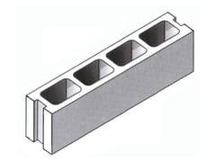 Blocco in calcestruzzo vibrocompressoBLOCCO 15x20x50 - GRUPPO CIVA