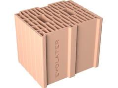 Blocco per tamponamento in laterizioBLOCCO INCASTRO 30x25x25 - FORNACI DCB