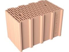 Blocco per tamponamento in laterizioBLOCCO INCASTRO 40x25x25 T - FORNACI DCB
