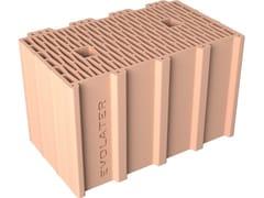 Blocco per tamponamento in laterizio BLOCCO INCASTRO 40x25x25 PESANTE - Blocchi per muratura
