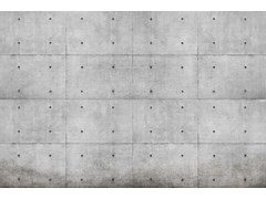 Carta da parati moderna industrial, PVC free, eco, lavabileBLOCK - WALLPEPPER