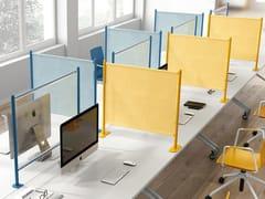 Pannello divisorio da scrivaniaBLOG | Pannello divisorio da scrivania - SESTA