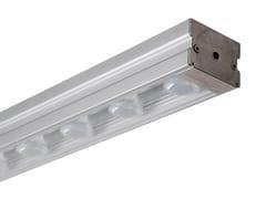 Profilo per illuminazione lineare con sistema RGB per moduli LEDBLOK - ADHARA