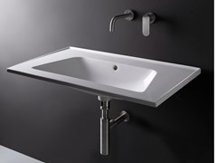 Lavabo sospeso in ceramica BLOOM | Lavabo rettangolare - Bloom