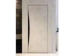Porta a battente a filo muro in legnoBLOW | Porta a filo muro - ALBED