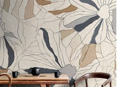 Wallpepper Group, BLOWING IN THE WIND Carta da parati tropicale PVC free, eco-friendly, lavabile
