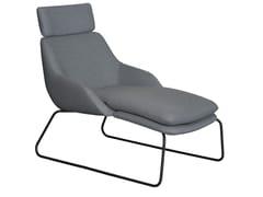 Chaise longue imbottita in tessutoBLUE   Chaise longue - CASALA