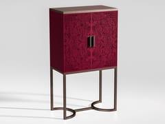 Mobile bar in legno e metallo con vassoioBLUE MOON | Mobile bar - CIAC-EXPORT