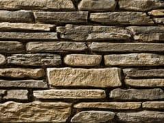 Rivestimento in pietra ricostruitaBLUMONE P02 | Marrone Terra - GEOPIETRA