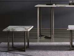 Tavolino quadrato in marmoBLUNT | Tavolino quadrato - BODEMA