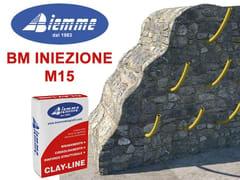 Biemme, BM INIEZIONE - M15 Malta e betoncino per il ripristino