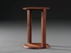 Tavolino rotondo in legno masselloBOAZ | Tavolino - ARTISAN