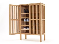 Scarpiera in legno masselloBOB | Scarpiera - SIXAY FURNITURE