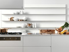 Schienale per cucina in alluminioBOISERIE - ELMAR