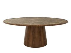 Tavolo da pranzo rotondo in legnoBOLTON   Tavolo - ANA ROQUE INTERIORS