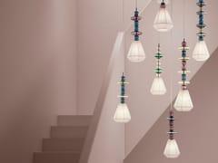 LAMPADA A SOSPENSIONE IN VETROBON BON - SYLCOM LIGHT