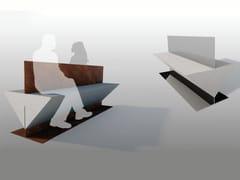 Panchina in pietra ricostruita senza schienaleBOND   Panchina senza schienale - MANUFATTI VISCIO