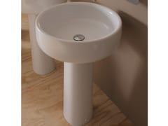 Lavabo in ceramica su colonna BONOLA 46 | Lavabo su colonna - Bonola