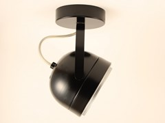 Faretto a LED orientabile in metallo a soffittoBOOGIE W1 | Faretto a soffitto - BERTI BARCELONA