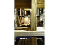 Libreria a giorno autoportante bifacciale in legnoBOOKCASE - ARNABOLDI INTERIORS