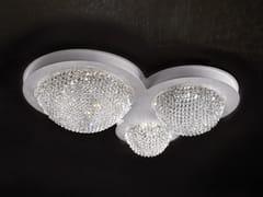 Lampada da soffitto a LED a luce diretta in cristallo in stile moderno con cristalli BOOL PL3 P - Bool