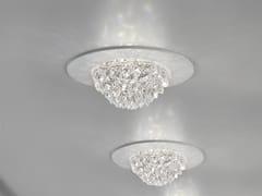 Plafoniera Cristallo Led : Plafoniera a led luce diretta in cristallo bool spot masiero