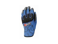 U-POWER, BOOST BLUE NEON Guanto tecnico in tessuto stretch