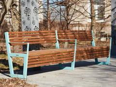 Punto Design, BOSTON | Panchina con schienale  Panchina con schienale
