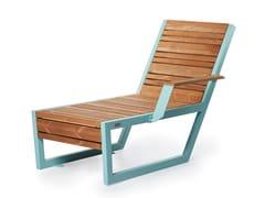 Seduta da esterni in acciaio e legnoBOSTON | Seduta da esterni - PUNTO DESIGN