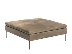 Pouf letto imbottito quadrato in nabukBOSTON | Pouf letto - SHAKE