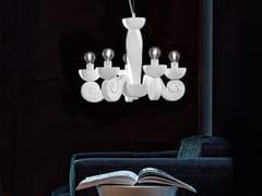 Lampada a sospensione a luce diretta in poliuretano espanso BOTERO S5 - Botero