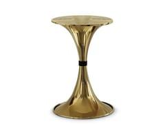 Tavolino rotondo in ottoneBOTTI | Tavolino - DELIGHTFULL