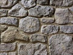 Rivestimento in pietra ricostruitaBOTTICINO P03 | Grigio Terra - GEOPIETRA