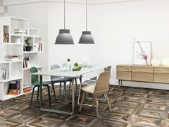 Pavimento in ceramica effetto legnoBOURGOGNE - ABSOLUT PARTNERS