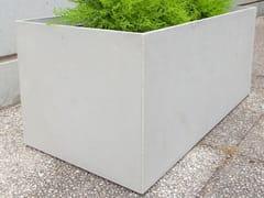 Fioriera per spazi pubblici in calcestruzzo fibrorinforzato BOX (100) | Fioriera per spazi pubblici - Basic